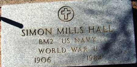 HALL, SIMON MILLS - Maricopa County, Arizona   SIMON MILLS HALL - Arizona Gravestone Photos