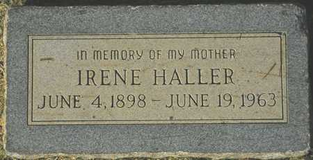 HALLER, IRENE - Maricopa County, Arizona | IRENE HALLER - Arizona Gravestone Photos