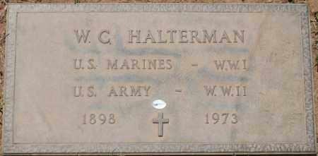 HALTERMAN, W. C. - Maricopa County, Arizona | W. C. HALTERMAN - Arizona Gravestone Photos