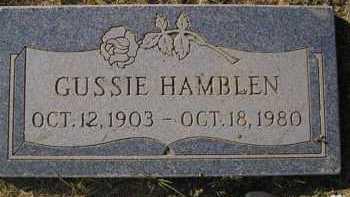 HAMBLEN, GUSSIE (ADA) - Maricopa County, Arizona | GUSSIE (ADA) HAMBLEN - Arizona Gravestone Photos