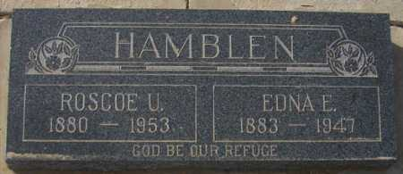 HAMBLEN, ROSCOE URIAH - Maricopa County, Arizona | ROSCOE URIAH HAMBLEN - Arizona Gravestone Photos