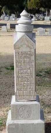 HAMILTON, ELSIE I. - Maricopa County, Arizona | ELSIE I. HAMILTON - Arizona Gravestone Photos