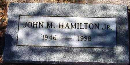 HAMILTON, JOHN M, JR - Maricopa County, Arizona | JOHN M, JR HAMILTON - Arizona Gravestone Photos