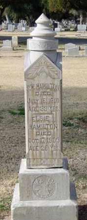 HAMILTON, ELIZABETH - Maricopa County, Arizona | ELIZABETH HAMILTON - Arizona Gravestone Photos