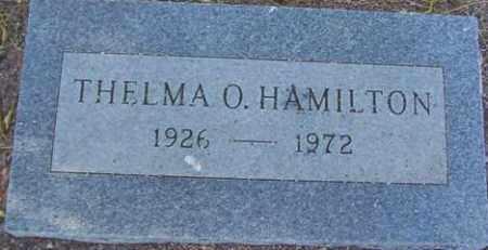 HAMILTON, THELMA O. - Maricopa County, Arizona | THELMA O. HAMILTON - Arizona Gravestone Photos