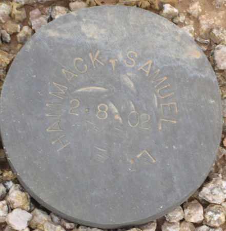 HAMMACK, SAMUEL L. - Maricopa County, Arizona   SAMUEL L. HAMMACK - Arizona Gravestone Photos