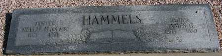 HAMMELS, JAMES G. - Maricopa County, Arizona   JAMES G. HAMMELS - Arizona Gravestone Photos