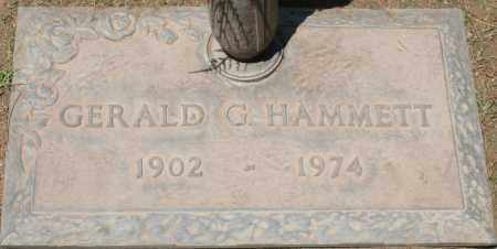 HAMMETT, GERALD G. - Maricopa County, Arizona | GERALD G. HAMMETT - Arizona Gravestone Photos