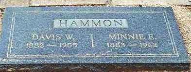 DOWDY HAMMON, MINNIE ELIZABETH - Maricopa County, Arizona | MINNIE ELIZABETH DOWDY HAMMON - Arizona Gravestone Photos