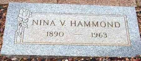 HAMMOND, NINA V. - Maricopa County, Arizona | NINA V. HAMMOND - Arizona Gravestone Photos