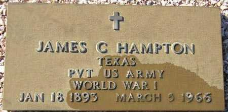 HAMPTON, JAMES C. - Maricopa County, Arizona | JAMES C. HAMPTON - Arizona Gravestone Photos