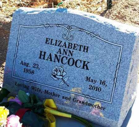 WAKEFIELD HANCOCK, ELIZABETH ANN - Maricopa County, Arizona   ELIZABETH ANN WAKEFIELD HANCOCK - Arizona Gravestone Photos