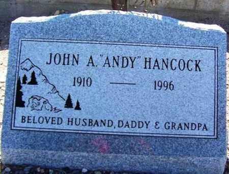 HANCOCK, JOHN ANDY - Maricopa County, Arizona | JOHN ANDY HANCOCK - Arizona Gravestone Photos