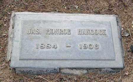 HANCOCK, JAMES MONROE - Maricopa County, Arizona | JAMES MONROE HANCOCK - Arizona Gravestone Photos