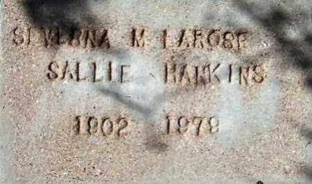 HANKINS, SALLIE - Maricopa County, Arizona | SALLIE HANKINS - Arizona Gravestone Photos