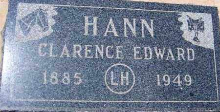HANN, CLARENCE EDWARD - Maricopa County, Arizona   CLARENCE EDWARD HANN - Arizona Gravestone Photos