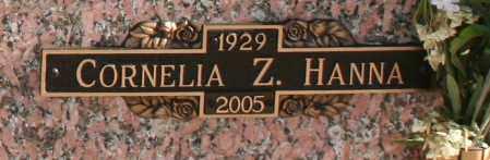HANNA, CORNELIA Z - Maricopa County, Arizona | CORNELIA Z HANNA - Arizona Gravestone Photos
