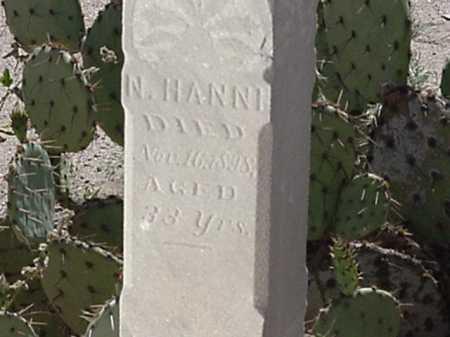 HANNI, NICK - Maricopa County, Arizona | NICK HANNI - Arizona Gravestone Photos