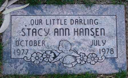 HANSEN, STACY ANN - Maricopa County, Arizona | STACY ANN HANSEN - Arizona Gravestone Photos