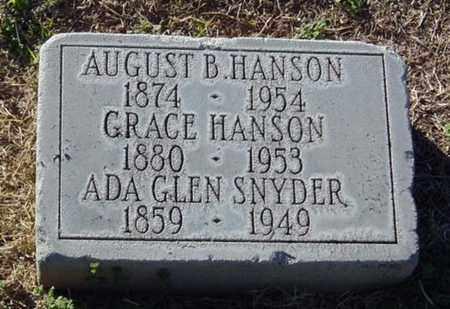 ROSSON HANSON, GRACE - Maricopa County, Arizona | GRACE ROSSON HANSON - Arizona Gravestone Photos