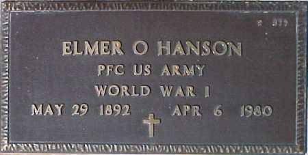 HANSON, ELMER O. - Maricopa County, Arizona | ELMER O. HANSON - Arizona Gravestone Photos