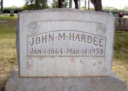 HARDEE, JOHN MORGAN - Maricopa County, Arizona   JOHN MORGAN HARDEE - Arizona Gravestone Photos