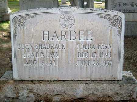SMEDLEY HARDEE, GOLDA FERN - Maricopa County, Arizona | GOLDA FERN SMEDLEY HARDEE - Arizona Gravestone Photos