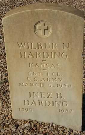 HARDING, INEZ H. - Maricopa County, Arizona | INEZ H. HARDING - Arizona Gravestone Photos