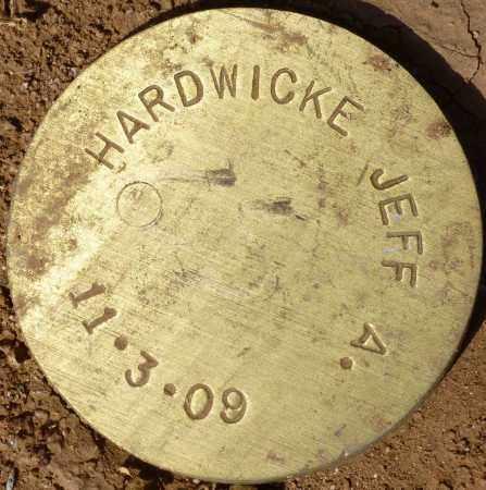 HARDWICKE, JEFF A. - Maricopa County, Arizona | JEFF A. HARDWICKE - Arizona Gravestone Photos