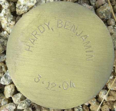 HARDY, BENJAMIN - Maricopa County, Arizona   BENJAMIN HARDY - Arizona Gravestone Photos