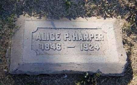 SMITH HARPER, ALICE P. - Maricopa County, Arizona | ALICE P. SMITH HARPER - Arizona Gravestone Photos