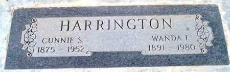HARRINGTON, CUNNIE S. - Maricopa County, Arizona   CUNNIE S. HARRINGTON - Arizona Gravestone Photos