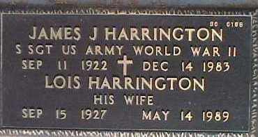 HARRINGTON, JAMES J. - Maricopa County, Arizona | JAMES J. HARRINGTON - Arizona Gravestone Photos