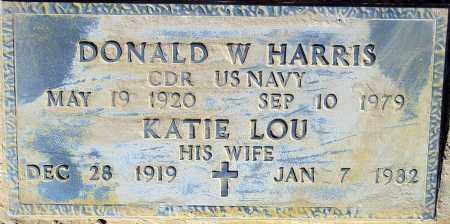 HARRIS, KATIE LOU - Maricopa County, Arizona | KATIE LOU HARRIS - Arizona Gravestone Photos