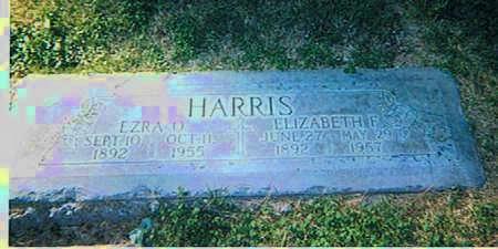 HARRIS, ELIZABETH E - Maricopa County, Arizona | ELIZABETH E HARRIS - Arizona Gravestone Photos