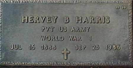 HARRIS, HERVEY B - Maricopa County, Arizona   HERVEY B HARRIS - Arizona Gravestone Photos