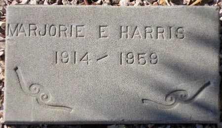 HARRIS, MARJORIE E. - Maricopa County, Arizona | MARJORIE E. HARRIS - Arizona Gravestone Photos