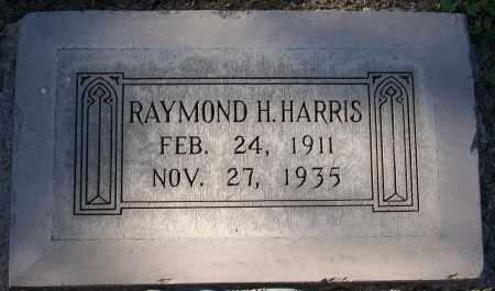 HARRIS, RAYMOND H - Maricopa County, Arizona | RAYMOND H HARRIS - Arizona Gravestone Photos