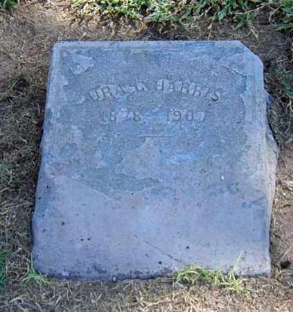 HARRIS, URA G. - Maricopa County, Arizona   URA G. HARRIS - Arizona Gravestone Photos