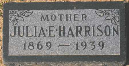 HARRISON, JULIA E. - Maricopa County, Arizona | JULIA E. HARRISON - Arizona Gravestone Photos