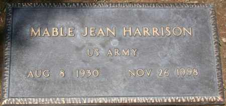 HARRISON, MABLE JEAN - Maricopa County, Arizona | MABLE JEAN HARRISON - Arizona Gravestone Photos