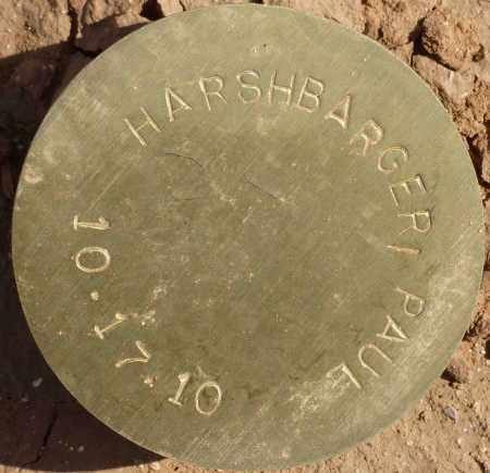 HARSHBARGER, PAUL - Maricopa County, Arizona | PAUL HARSHBARGER - Arizona Gravestone Photos
