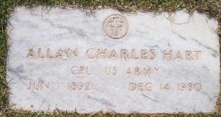 HART, ALLAN CHARLES - Maricopa County, Arizona | ALLAN CHARLES HART - Arizona Gravestone Photos