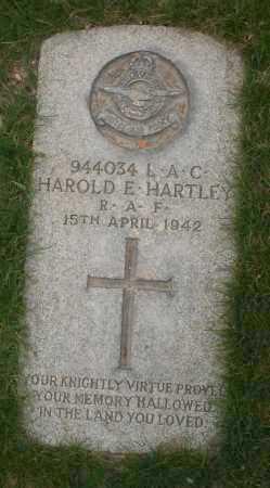 HARTLEY, HAROLD E. - Maricopa County, Arizona | HAROLD E. HARTLEY - Arizona Gravestone Photos