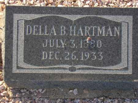 HARTMAN, DELLA B. - Maricopa County, Arizona | DELLA B. HARTMAN - Arizona Gravestone Photos