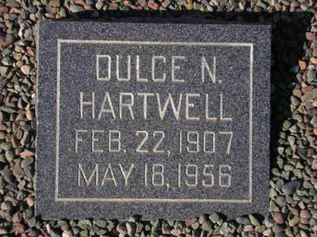 HARTWELL, DULCE N. - Maricopa County, Arizona | DULCE N. HARTWELL - Arizona Gravestone Photos