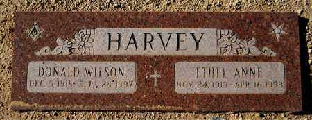 HARVEY, ETHEL ANNE - Maricopa County, Arizona   ETHEL ANNE HARVEY - Arizona Gravestone Photos