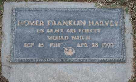 HARVEY, HOMER FRANKLIN - Maricopa County, Arizona | HOMER FRANKLIN HARVEY - Arizona Gravestone Photos
