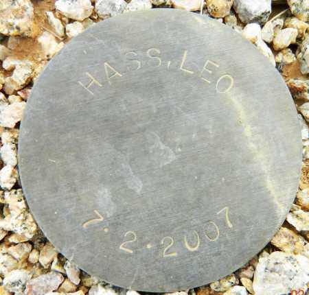 HASS, LEO - Maricopa County, Arizona | LEO HASS - Arizona Gravestone Photos