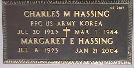 HASSING, CHARLES M. - Maricopa County, Arizona | CHARLES M. HASSING - Arizona Gravestone Photos